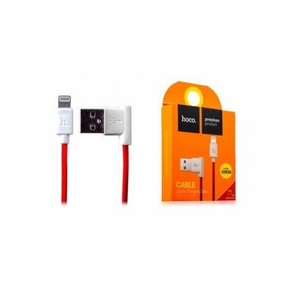 Кабель USB  hoco  iPhone 5/6 (90`) 1,2 м